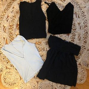 brandy melville crop tops